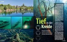 Kreidesee/Deutschland - Tief in der Kreide