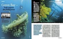 Schlachtfelder Pazifik - Coron Bay, Truk Lagoon der Philippinen